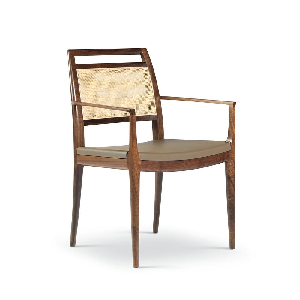 troscan alana arm chair, upholstered chair, dining chair