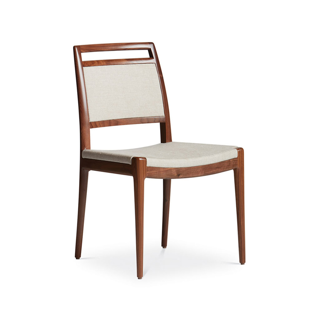 troscan alana side chair, upholstered chair, dining chair