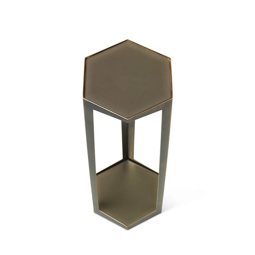 troscan gemma hexagonal drink table